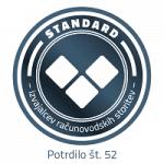 Fincommerce - Standard ZRS št. 52